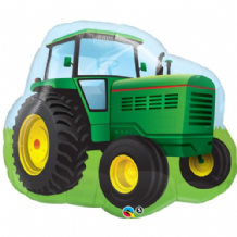 Farm Tractor Large Foil Balloon 1pc
